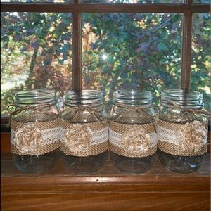 Set of 4 Pint Jars